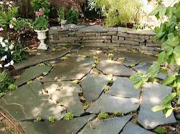 round patio stone how to build a stone accent wall hgtv