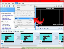 how to add muzzle flash effects using paint net and movie maker
