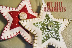 simplycomfy diy felt ornaments