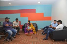 Facebook Office Photos Of Nani And Keerthi Suresh From Their Live Interaction At