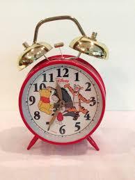 disney quartz double bell working alarm clock eeyore tigger