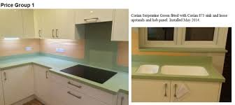 Corian Work Surfaces Brian Jackman Offer A Full Fabrication Service For Corian Worktops