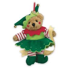 santa s workshop 2017 teddy ornaments the danbury mint