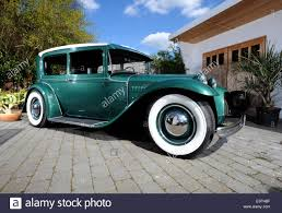 ford cars 1930s ford cars built as rods in the 1940s or 50s stock photo