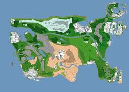 Fake Map Concept Map Shows A Gta United States Gta 5 Cheats