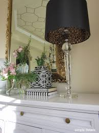 Diy Lamp Shade Simple Details Diy Lamp Shade With Leopard Print Lining
