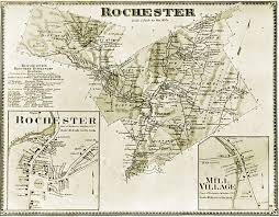 Vt Map Rochester Historical Society Maps