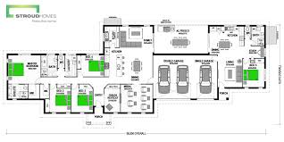 Floor Plan Granny Flat Oakleigh 258 Home With Granny Flat Design Stroud Homes