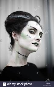 halloween bride of frankenstein pale vampire woman mortisha undead
