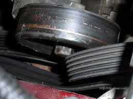 how to replace the serpentine belt in a 1996 dodge caravan