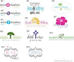 create monogram initials new product custom personalized wedding monograms