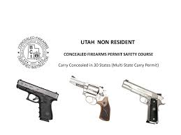 Utah Concealed Carry Map by Utah U0026 Florida Combo Non Resident Cfp Safety Co At Phoenicia