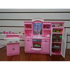dollhouse furniture kitchen amazon com size dollhouse furniture kitchen set toys