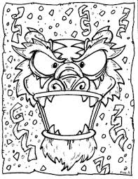 coloring page for chinese new year chinese new year pinterest