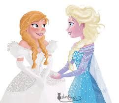 frozen dress for wedding nk two set princess doll anna elsa