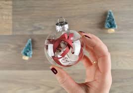 how to make a diy ornament with your wedding invitation