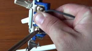 how to wire a light switch youtube