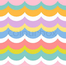 pretty wrapping paper babies and kids geometric vector pattern in retro style modern