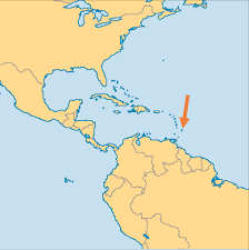 Bermuda On World Map by Barbados Operation World