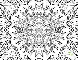 Unique Design Free Printable Coloring Pages For Adults Flower Free Coloring Pages For Adults
