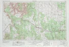 Road Map Arizona by Williams Topographic Maps Az Usgs Topo Quad 35112a1 At 1