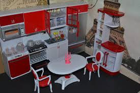 Kitchen Dollhouse Furniture by Amazon Com Barbie Sized Dollhouse Furniture Modern Comfort