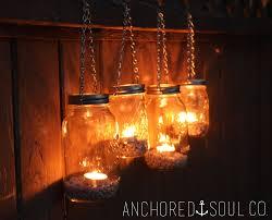 Mason Jar Lights Outdoor by Hanging Mason Jar Lanterns Home Decor Xshare Us