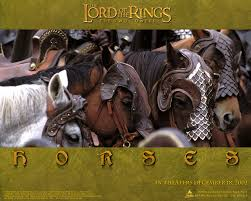 rohan wallpaper horses in the lord of the rings