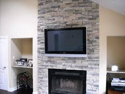 create a distinctive stacked stone fireplace gazebo decoration