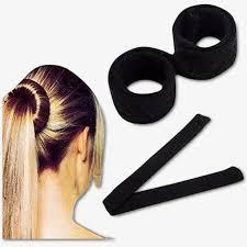 hair bun maker fashion hair styling magic diy tool bun maker