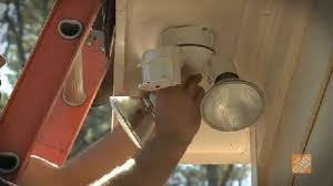 how to install flood lights how to install floodlights for security part 2 lighting how to