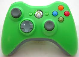 new microsoft xbox 360 lime green wireless video game controller