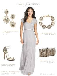 silver dresses for a wedding beaded silver gown for a of the
