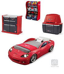 car bedroom amazon com car bedroom furniture red corvette dresser storage combo