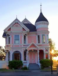 Queen Anne Style Home The Pink Lady Queen Anne Style Located On 2nd Street And U2026 Flickr