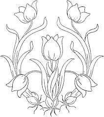 free flower coloring printables kids flower coloring page free