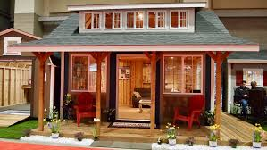 Shed Designs With Porch 10 Tiny Homes Cabins And Sheds At The Seattle Home Show Curbed