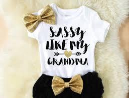 sassy like my grandma new grandma gift baby shower gift