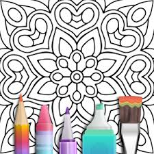 mandala coloring book android apps google play