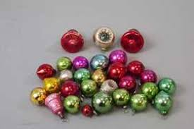 125 vintage kugel ornaments