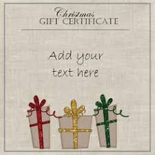 gift certificate template in word format so that you can type in