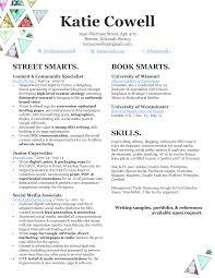 Copywriter Resume Sample resume u2014 katie cowell