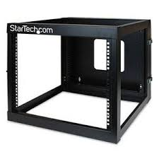 8u wall mount cabinet startech 8u hinged open framed wall mount server rack 4 post rack