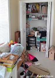Craft Room Closet Organization - getting organized u2013 puddy u0027s house