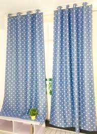 White With Pink Polka Dot Curtains Aliexpress Com Buy Myru New Arrival Blue Color With White Dots