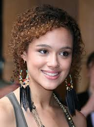 different hair styles for short curly hair in tamil 2014 nathalie emmanuel s short hairstyles best short curly hair