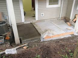 Exposed Aggregate Patio Pictures by Concrete Fixing A Botched Exposed Aggregate Patio Home