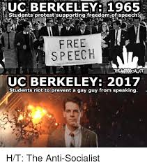 Uc Memes - uc berkeley 1965 students protest supporting freedomiof speech free