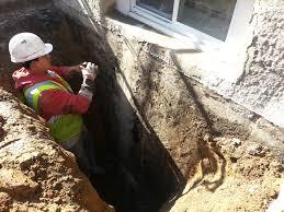 basement waterproofing exterior structural at waterproofing