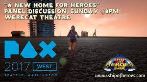 Designing A New Home Ship Of Heroes U201d Presents At Pax West 2017 Panel Discussion On